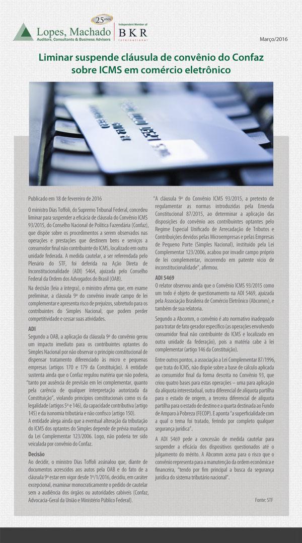 NOTÍCIAS CURTAS Nº 52